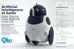 Qbo adorable open-source robot detailed