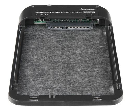 Sharkoon unveils QuickStore Portable USB 3.0 enclosure