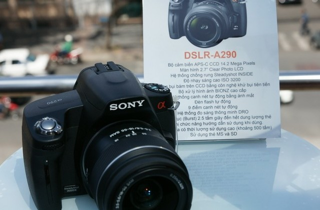 Sony Alpha A290 entry-level DSLR outed