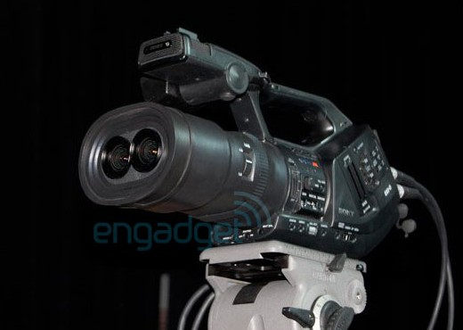 Sony EX3 3D camcorder prototype breaks cover
