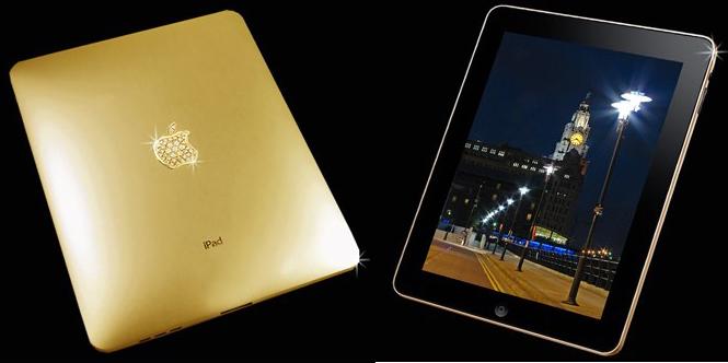 $190k Stuart Hughes iPad Supreme swaps taste for gold & diamonds