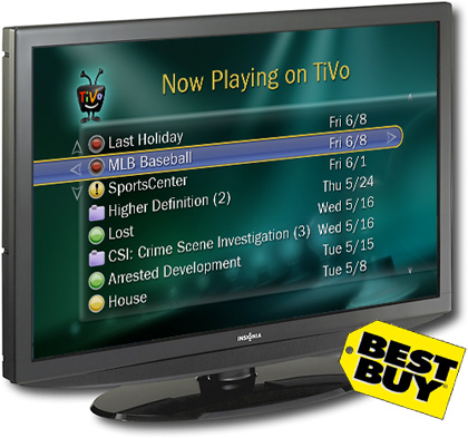 Best Buy deal puts TiVo software (but no DVR) into Insignia HDTVs