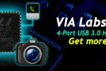 VIA Labs to show off VL800 4-port USB 3.0 host controller at Computex