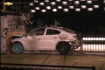 GM shows off crash test facility as it crunches a Volt