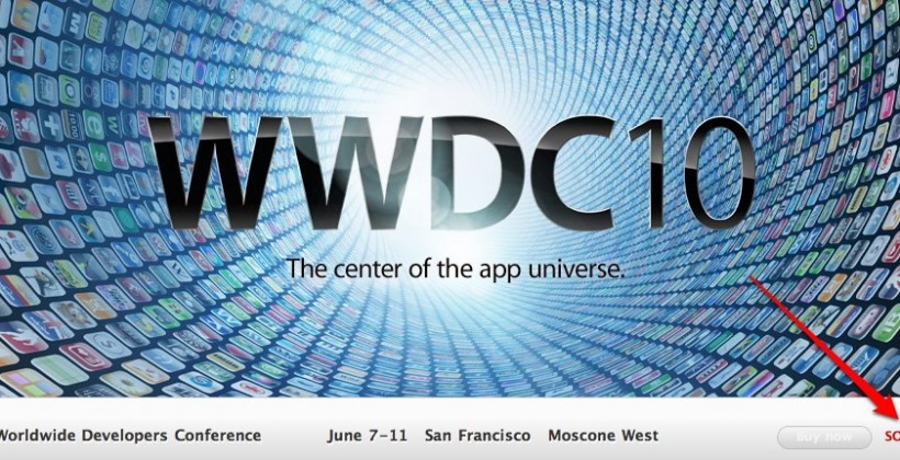 WWDC 2010 sells out in just over a week