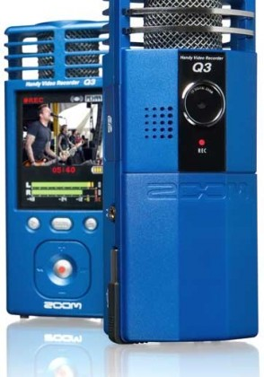 Zoom Q3 camcorder price slashed to $199