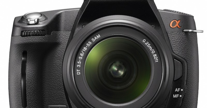 Sony Alpha A290 and A390 budget DSLRs get official