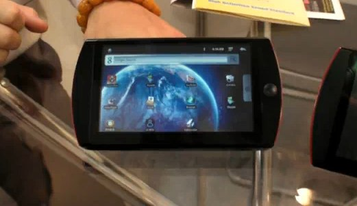 Acorp EM501R super-cheap Android MID gets video demo