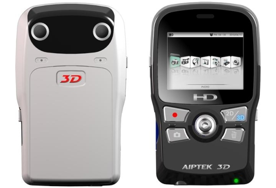 Aiptek 3D Records HD Video in 3D for Those on a Budget