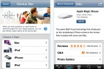 Apple Store app allows mobile shopping & Genius appointments