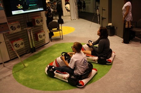 CTA Digital Inflatable Race Car Accessory for the Wii Unveiled at E3