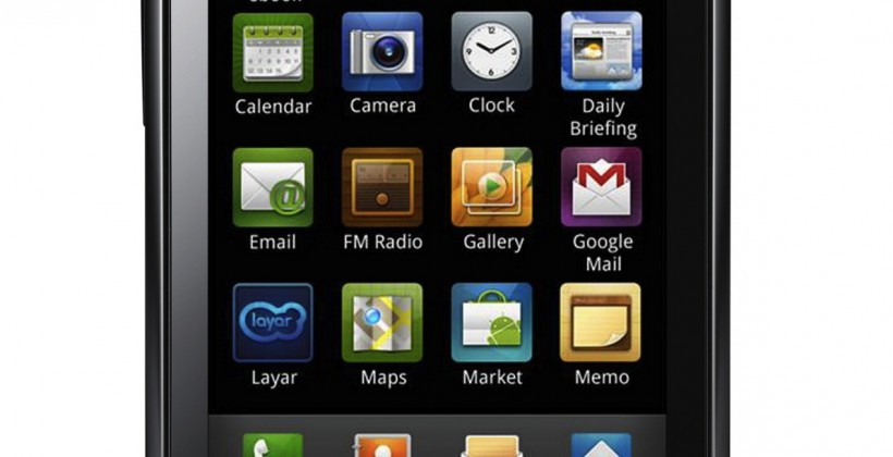 Samsung Galaxy 3 I5800 and Galaxy 5 I5500 Android phones outed