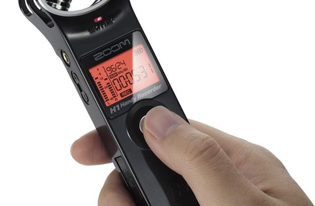 Zoom H1 Handy Recorder Promises Pro Audio For 99 Slashgear