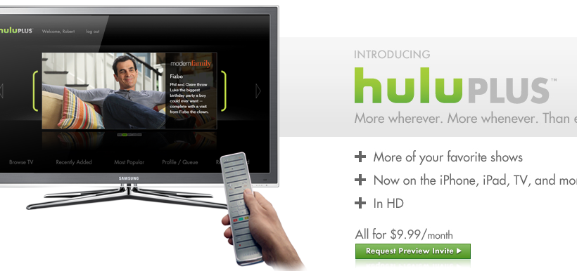 Hulu Plus on PS3 Could Mean Mandatory Subscription to PSN+