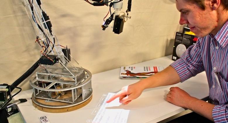LuminAR digital desk-lamp packs pico, camera & gesture UI [Video]