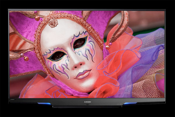 Mitsubishi LaserVue HDTV is 75-Inches of 3D-Readiness