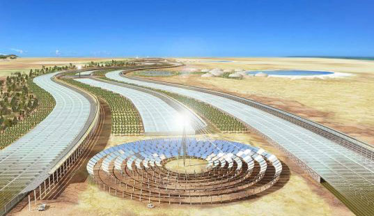 European Union Plans for Huge Solar Farm in Sahara Desert to Power Europe