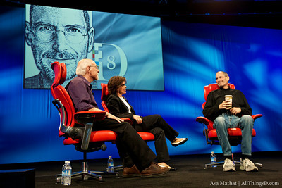 Steve Jobs at D8: Flash, the iPhone HD, and Everything Else