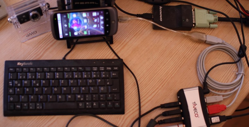 Nexus One Used as a USB Host, Thanks to Hack [Video]