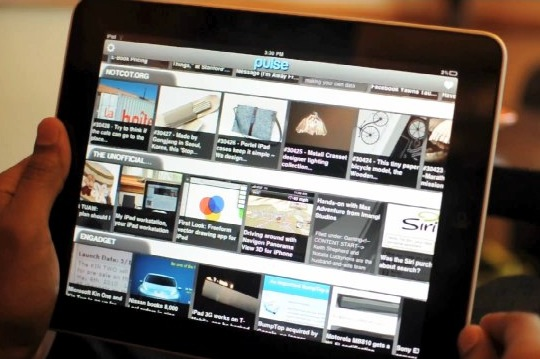 Pulse News Reader for iPad praised by Jobs then yanked from App Store