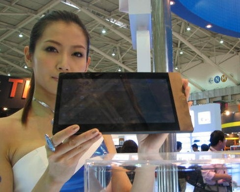 Fourth ASUS Eee Pad caught on video