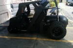 Batman Tumbler golf cart is slower than original (but easier to park)