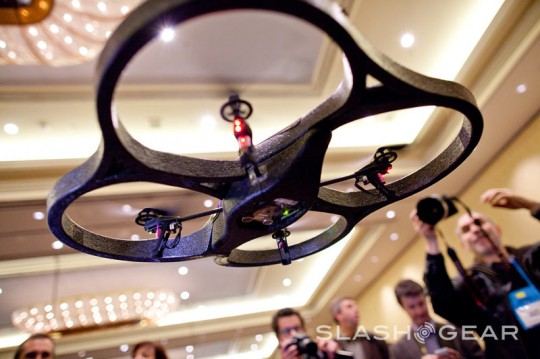 Parrot AR.Drone official: $299 from September