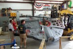Millennium Falcon lands on kid's fort thanks to Make a Wish Foundation