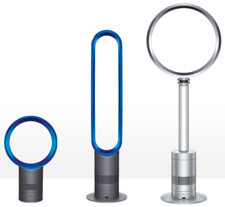 Dyson Air Multiplier AM02 and AM03 bladeless fans debut