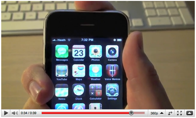 iPhone 4's Poor Reception Could be Software Related [Video]