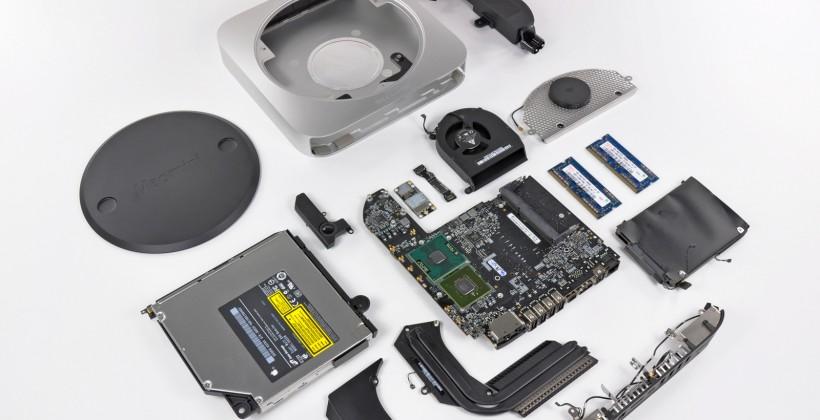New Mac mini gets teardown treatment