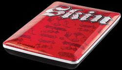 Iomega debuts Skin-branded external hard drives
