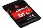 Kingston debuts 64GB SDXC UHS-1 Class 10 SDXC card