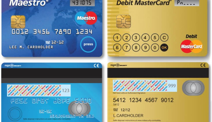 MasterCard trialling smart credit cards with display & keypads