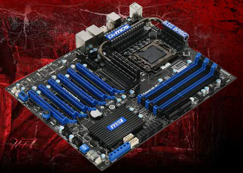 MSI Big Bang XPower X58 mainboard unveiled