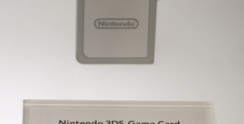 Nintendo 3DS game card spotted; new wireless eReader app tipped