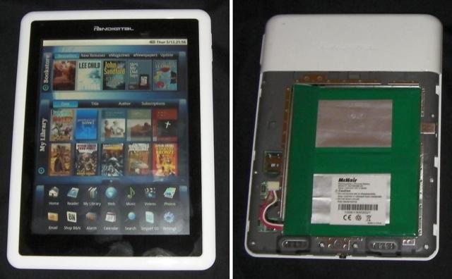 Pandigital Novel fails to impress: slow, broken WiFi and poor ereader app