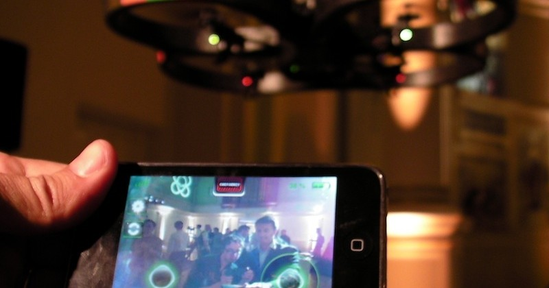Parrot AR.Drone hands-on [Video]