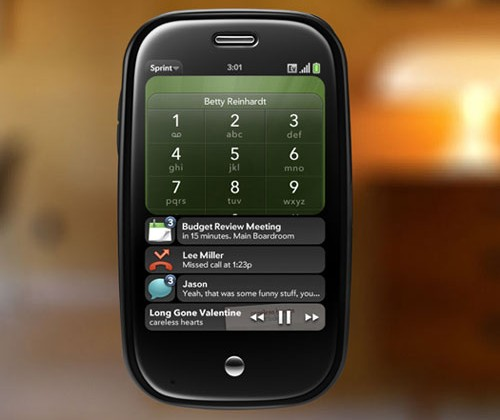 webOS notifications designer defects to Apple