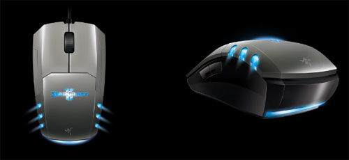Razer shows off StarCraft II Wings of Liberty peripherals at E3