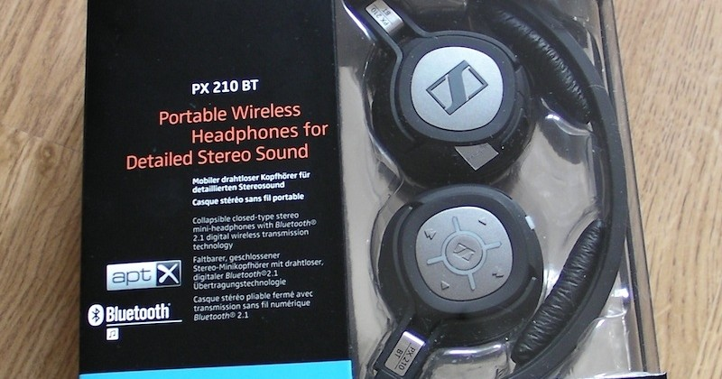 Sennheiser PX 210 BT apt-X Headphones Review