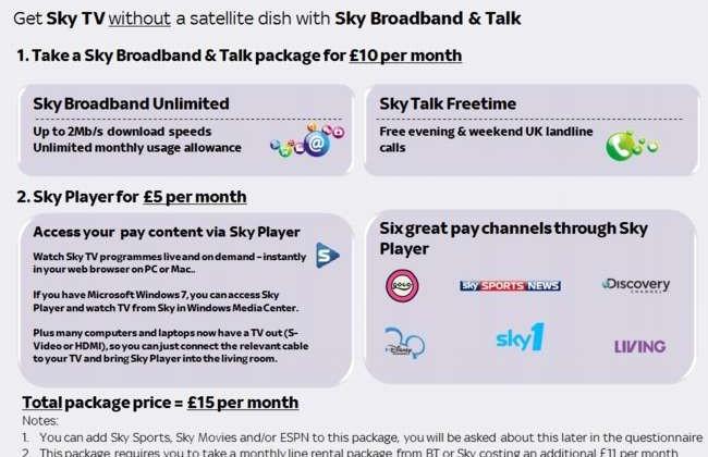 Sky planning dish-free IPTV Sky+ service - SlashGear