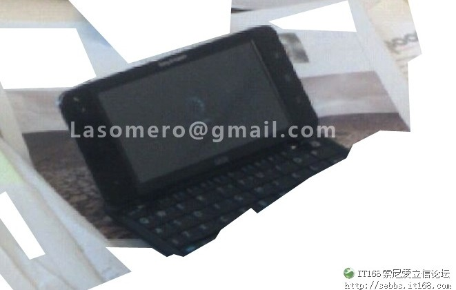 Sony Ericsson Android MID leaks; due this fall