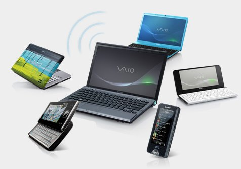 "Sony VAIO Z and Y notebooks get ""Share My Connection"" WiFi router functionality"