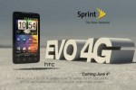 Sprint EVO 4G ad outed; stock headed to stores [Video]