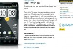 Sprint EVO 4G up for sale online