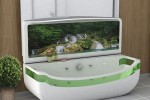 Sub-Tub is a whirlpool bathtub, TV, and Sink all in one