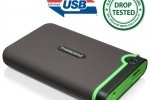 Transcend StorJet 25M3 Rugged Portable HDD gets USB 3.0 certified