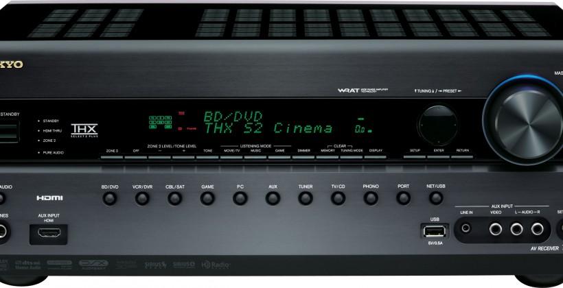 Onkyo TX-NR1008, NR808 & NR708 A/V receivers: DLNA, multi-room & 3D