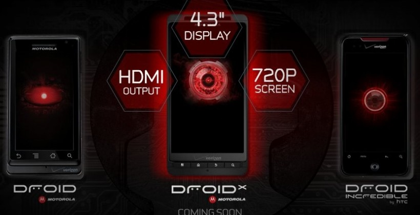 "Verizon Motorola DROID X shows up on ""coming soon"" teaser"